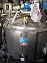 257277 - DCI Jacketed Slurry Tanks - Stainless Steel