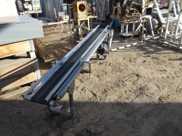 Image 8in W X 8ft L Incline Belt Conveyor - Stainless Steel 763376