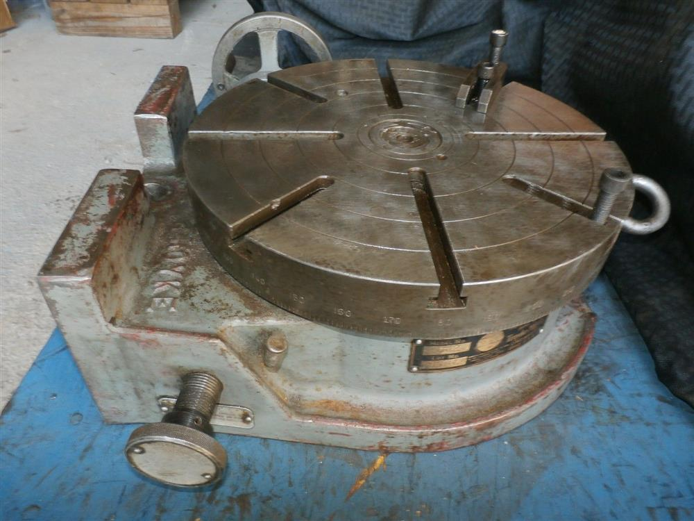 12 troyke u 12 rotary tabl 259817 for sale used for 12 rotary table