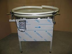 "260257 - 42"" Custom Built Accumulation Turn Tables"