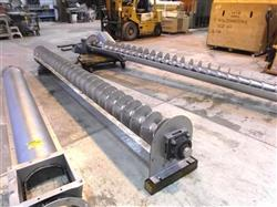 261605 - 12in Dia X 25ft Screw Auger - Stainless Steel