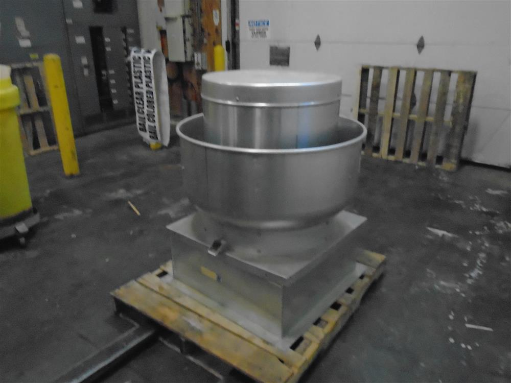 Greenheck exhaust fan 261606 for sale used for Restaurant exhaust fan motor replacement