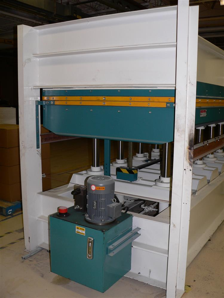 160 Ton Heated Platen H - 261825 For Sale Used N/A