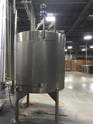 263203 - 1150 Gallon Mixing Tank - Stainless Steel