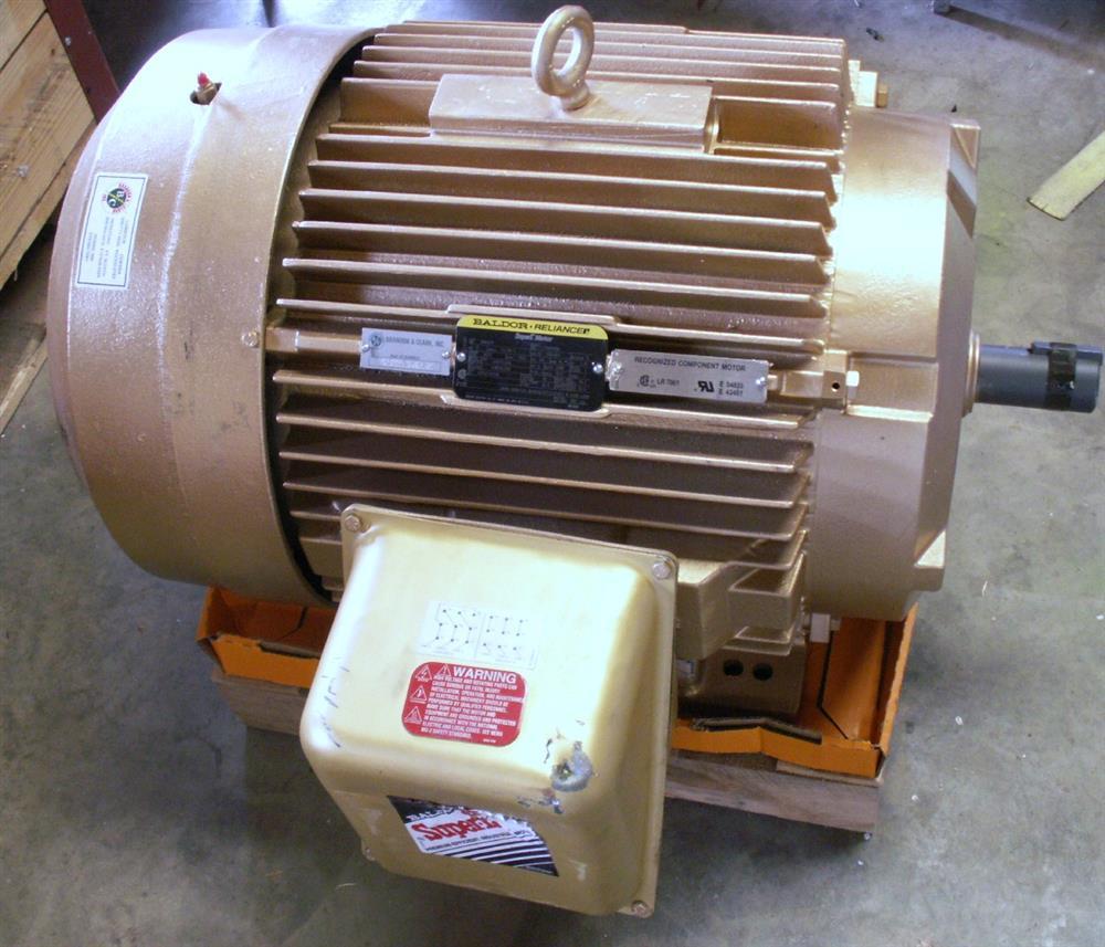 75 Hp Baldor Motor Remanu 264284 For Sale Used