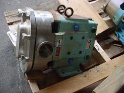 "264395 - 3"" WAUKESHA Displacement Pump - Model 130, Stainless Steel, Sanitary"