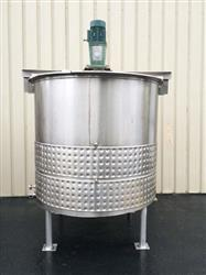 266360 - 1200 Gallon PROCESS EQUIPEMNT Jacketed Processing Tank - Stainless Steel