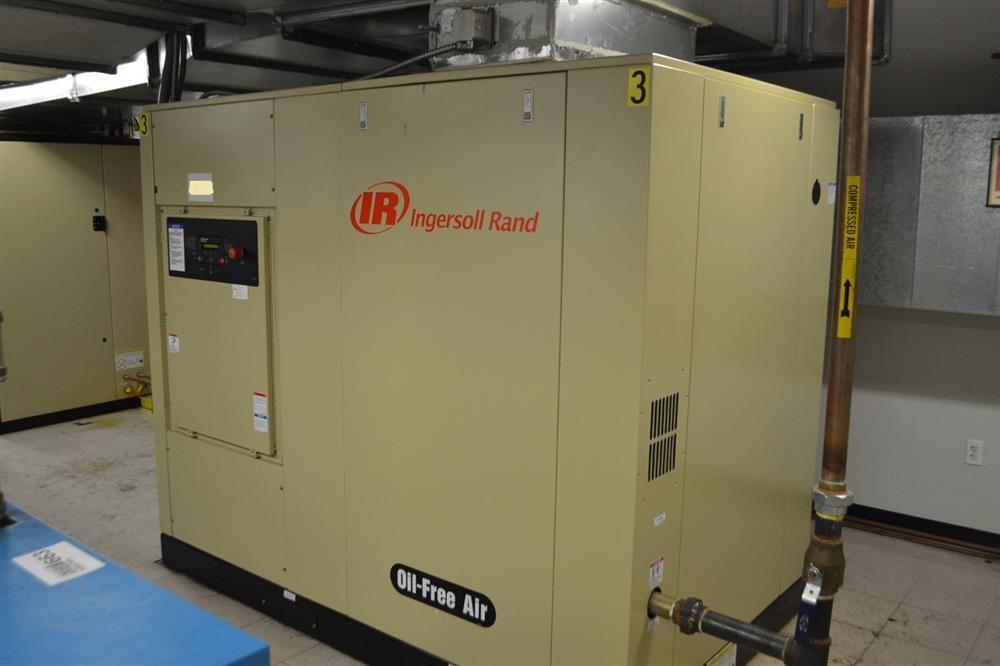 INGERSOLL RAND Oil Free Air Compressor - Sierra H75A
