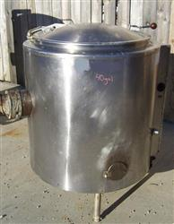 268644 - 40 Gallon GROEN Jacketed Steam Kettle - Stainless Steel