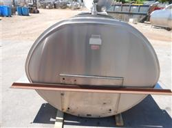 269710 - 600 Gallon Bulk Milk Cooling Tank