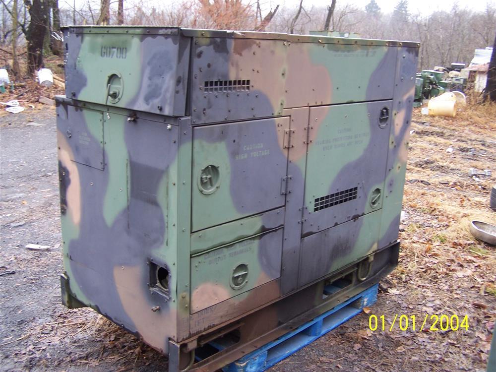 15 kw diesel generator 270503 for sale used. Black Bedroom Furniture Sets. Home Design Ideas