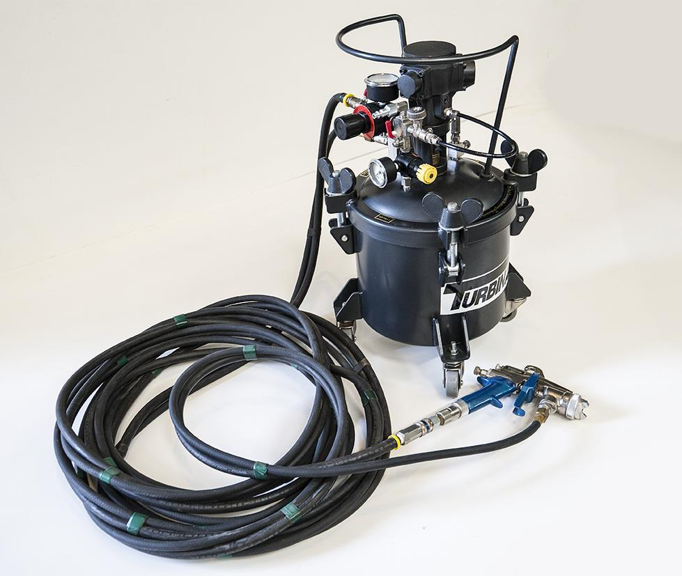 Turbinaire paint sprayer 272032 for sale used for Paint sprayers for sale