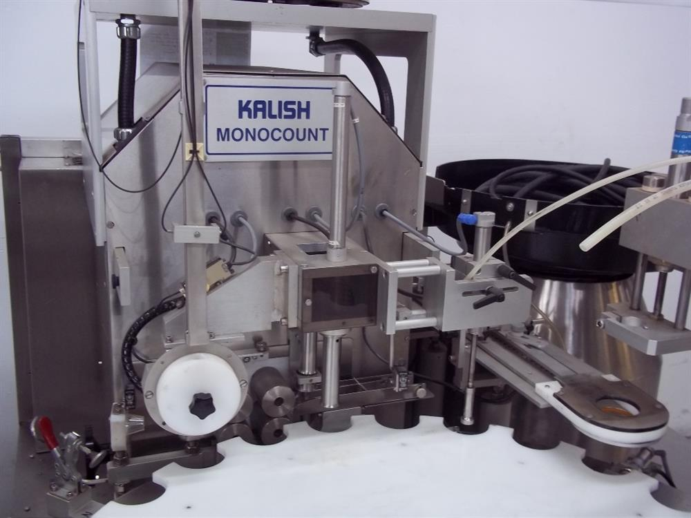 Image KALISH Monocount Capper for Tablet Line Including Cottoner and Dessicant Feeder 820730