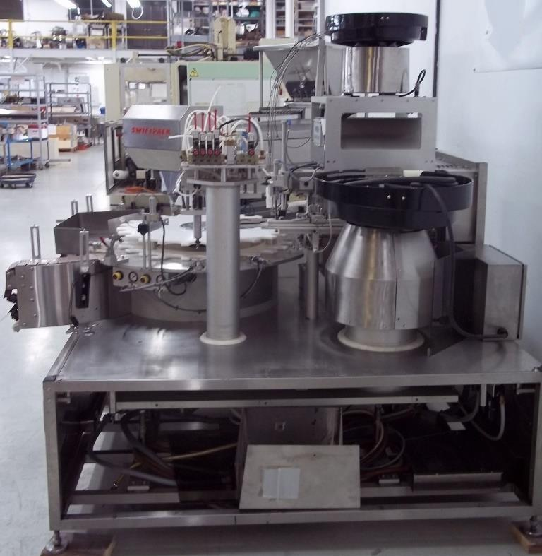 Image KALISH Monocount Capper for Tablet Line Including Cottoner and Dessicant Feeder 820744