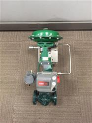 "273197 - 1"" FISHER Actuated Globe Valve"