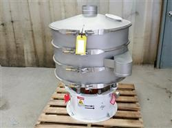 273227 - 30in Two Deck Round Vibratory Separator Screener Sifter - Stainless Steel