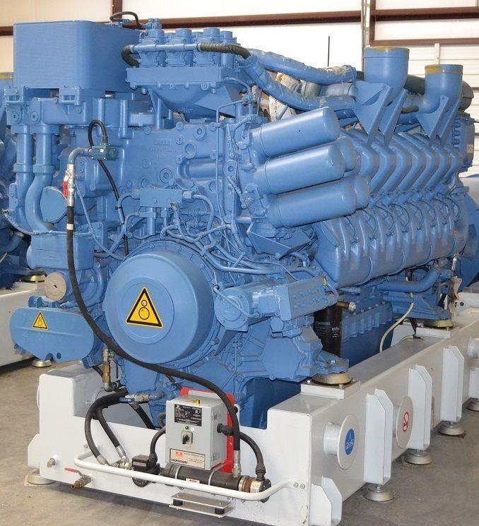 MTU Diesel Engine Tier - 273919 For Sale Used N/A