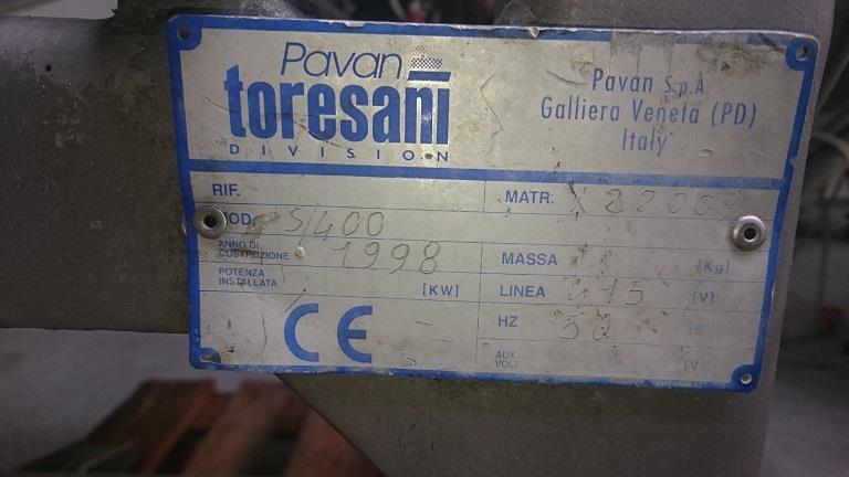 Image PAVAN S 400 Pasta Sheeter 831741