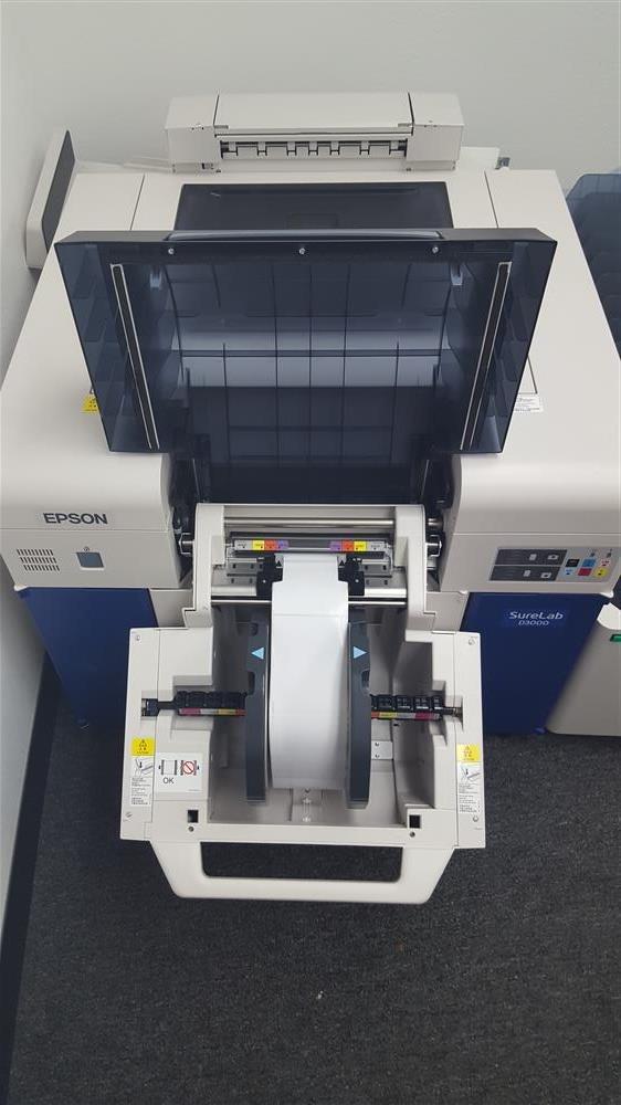 Image EPSON D-300 Dual Roll Printer & Sorter Attachment 836672