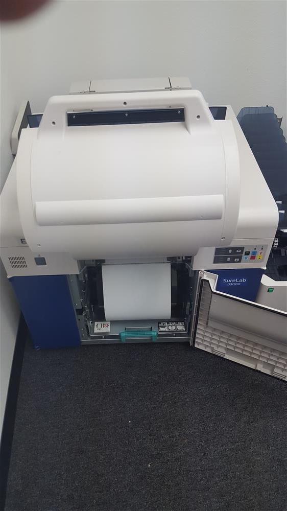 Image EPSON D-300 Dual Roll Printer & Sorter Attachment 836673
