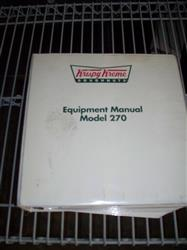 276692 - Full Manual For Krispy Kreme 270 Doughnut Production Line