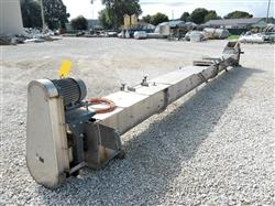 277364 - 16in OD X 30ft Inclined Screw Auger Conveyor