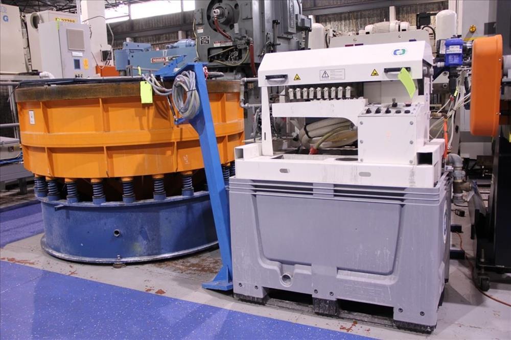 REM 62 CF Abrasive Vibratory Finishing System