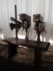 278003 - 3 Head POWERMATIC 1200/1150 Drill Press