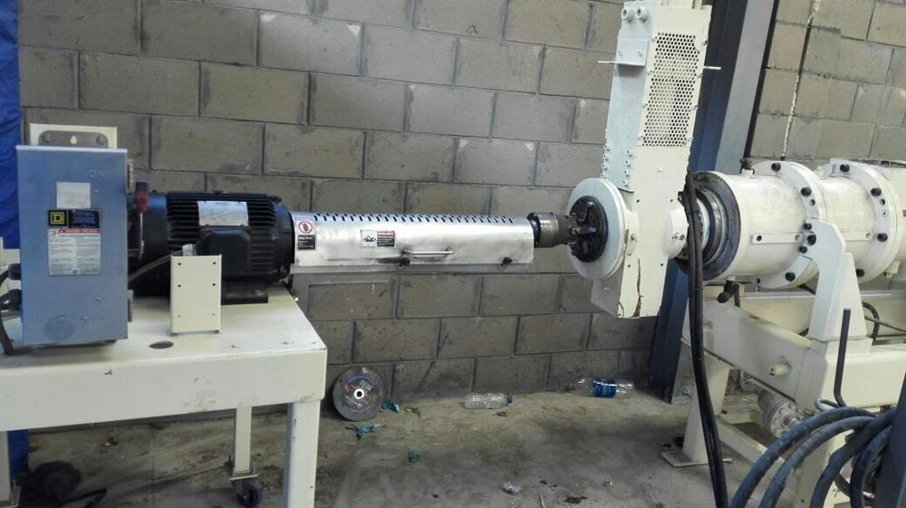 Used extrusion equipment for sale - single screw - Exapro