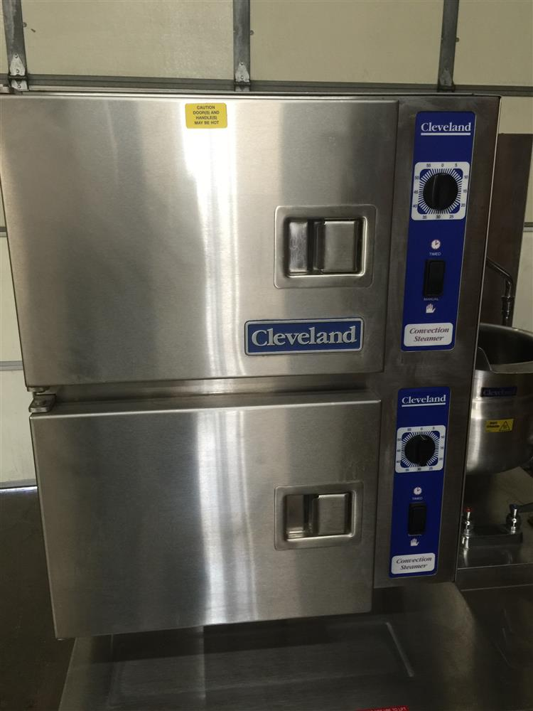 ... Image CLEVELAND Steamer With Steam Kettle 845190 ...