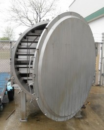 AMERICAN PROCESS SYSTEMS SVTD-32 Vacuum Tray Dryer