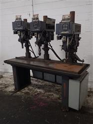 279179 - CLAUSING Three-Headed Drill Press