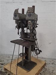 279184 - CLAUSING 1635 Two-Headed Drill Press