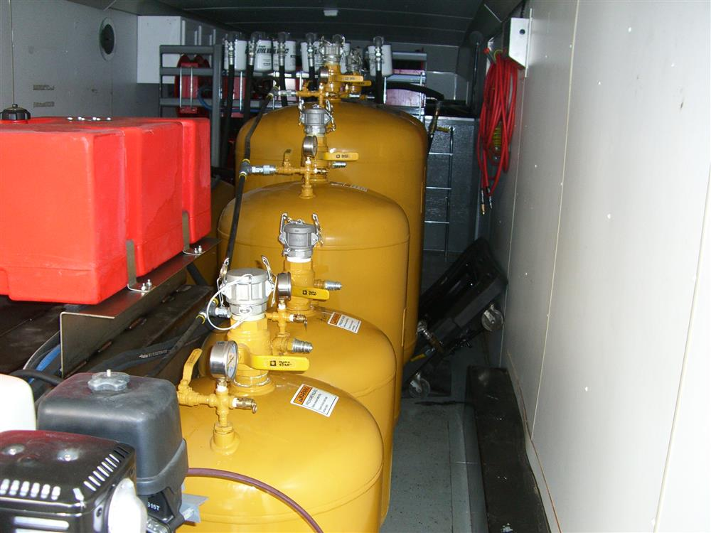 Image HAULMARK Mobile Oil Change Equipment 849187
