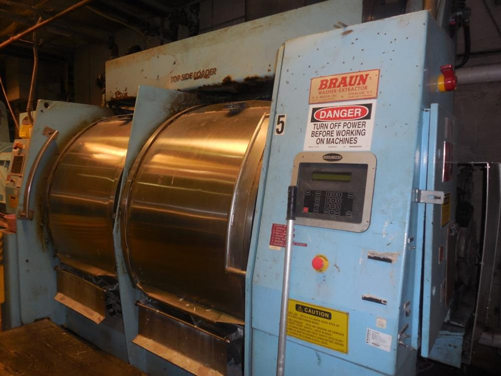 Braun Industrial Washers ~ Braun nmtdp industiral for sale used