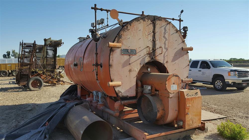KEWANEE Steam Boiler - 279604 For Sale Used
