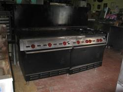 "280285 - 48"" WOLF Griddle - 2 Ovens, 4 Burners"
