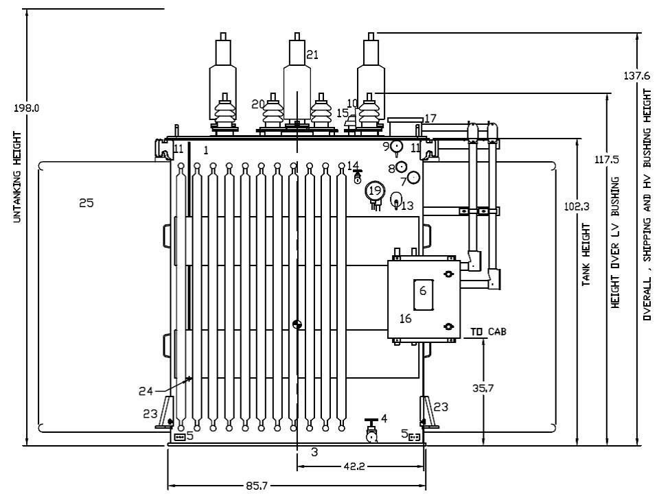 inverter circuit diagrams without transformer transformer drawings or diagrams abb substation power transf - 280383 for sale used