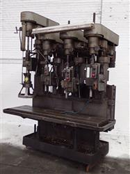 280883 - ALLEN 4 Head Drill Press