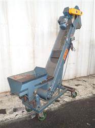 283115 - Portable Inclined Belt Conveyor