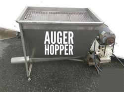 283182 - 11' Auger Conveyor with Hopper