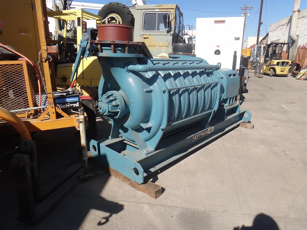 Hoffman Centrifugal Blower : Hoffman a centrifugal for sale used