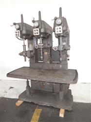 284009 - CINCINNATI 24 Three Spindle Drill Press