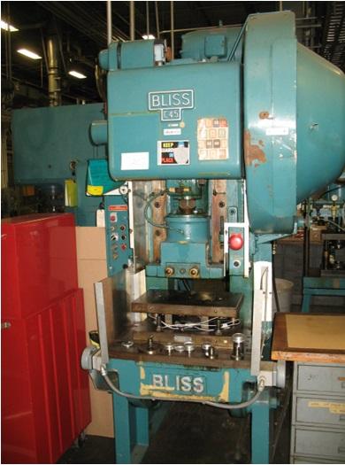 BLISS C-45 OBI Press