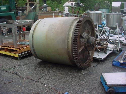 Image 48in X 54in PATTERSON Rubber Lined Ball Mill  868345