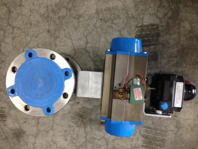 Image 4in Flanged Control Valve - Stainless Steel 871547