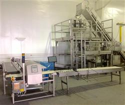 285500 - VERTEK Vertical Form Fill and Seal Packaging Line with Combi Scale