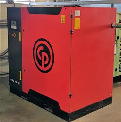 285612 - 100 HP CHICAGO PNEUMATIC Rotary Screw Air Compressor