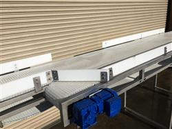 286259 - 34in W X 22ft L BiFlow ReFlow Accumulation Conveyor - Stainless