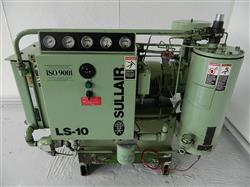 286285 - 25 HP SULLAIR Rotary Screw Air Compressor - Model LS-10 25H AC-AC, 100 CFM